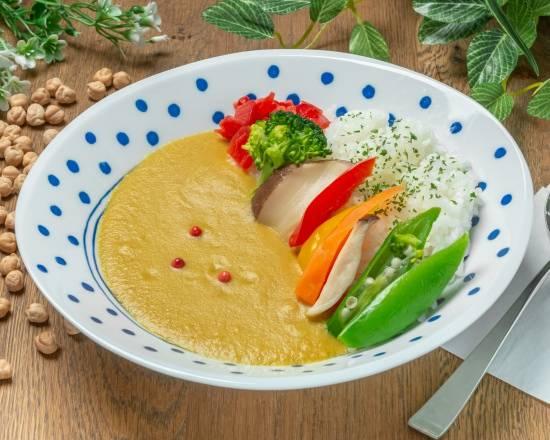 ひよこ豆の野菜カレー