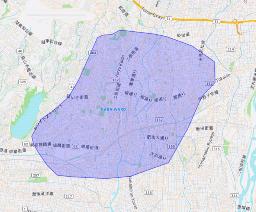 静岡県浜松市エリア